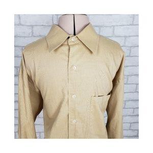JOSEPH ABBOUD Long Sleeve Button Front Shirt